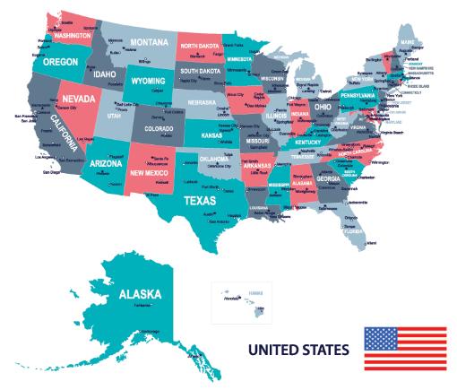 Thật khó để xác định múi giờ ở Mỹ do diện quá lớn