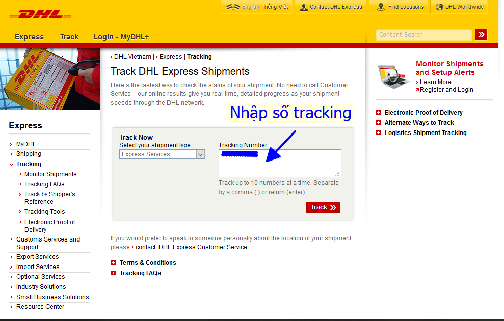 tracking dhl 1